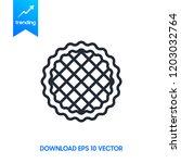 vector illustration of homemade ...   Shutterstock .eps vector #1203032764