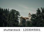 bran  transylvania region  ... | Shutterstock . vector #1203045001