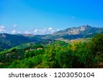 panaromic view of mount ida in...   Shutterstock . vector #1203050104