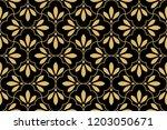 flower geometric pattern.... | Shutterstock .eps vector #1203050671