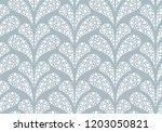 flower geometric pattern.... | Shutterstock .eps vector #1203050821
