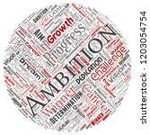 vector conceptual leadership... | Shutterstock .eps vector #1203054754