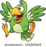 cartoon parrot. vector clip art ...
