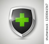 medical health protection... | Shutterstock .eps vector #1203061567