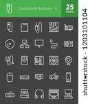 computer   hardware inverted... | Shutterstock .eps vector #1203101104