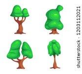 vector design of tree and... | Shutterstock .eps vector #1203112021