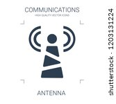 antenna icon. high quality... | Shutterstock .eps vector #1203131224