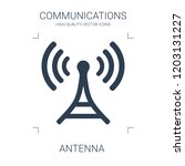 antenna icon. high quality... | Shutterstock .eps vector #1203131227