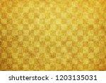 japanese new year gold... | Shutterstock . vector #1203135031