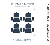 cinema seats icon. high quality ...   Shutterstock .eps vector #1203135847