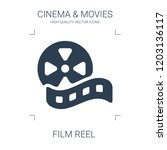 film reel icon. high quality... | Shutterstock .eps vector #1203136117