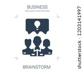 brainstorm icon. high quality... | Shutterstock .eps vector #1203141997