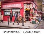 london  october  2018  alice's...   Shutterstock . vector #1203145504