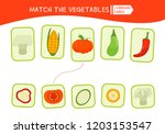 matching children educational... | Shutterstock .eps vector #1203153547