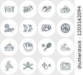 vector illustration of 16... | Shutterstock .eps vector #1203162094