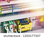 electronic and electrical... | Shutterstock . vector #1203177337