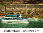 niagara falls  on  canada...   Shutterstock . vector #1203201574