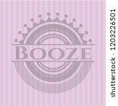booze retro style pink emblem | Shutterstock .eps vector #1203226501