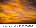 civil twilight sky with clouds | Shutterstock . vector #1203250987