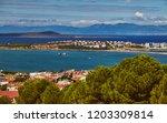 views of ayvalik town oncunda...   Shutterstock . vector #1203309814