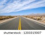 Empty Desert Highway Running...