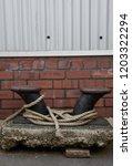 dock side rope   Shutterstock . vector #1203322294