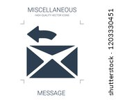 message icon. high quality... | Shutterstock .eps vector #1203330451