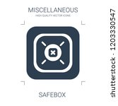 high quality filled safebox... | Shutterstock .eps vector #1203330547