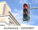 Traffic Lights Against Sky...