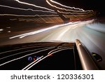 night ride with camera on roof | Shutterstock . vector #120336301