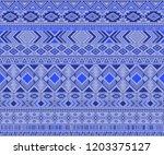 peruvian american indian... | Shutterstock .eps vector #1203375127