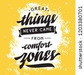 inspirational quote  motivation.... | Shutterstock .eps vector #1203380701