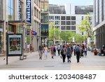 dresden  germany   may 10  2018 ... | Shutterstock . vector #1203408487