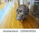 skull of crystals at the store | Shutterstock . vector #1203424531