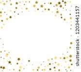 abstract vector round... | Shutterstock .eps vector #1203441157