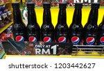 klang  malaysia   october 15... | Shutterstock . vector #1203442627