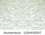 abstract fabric white rose... | Shutterstock . vector #1203450547