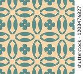 vector geometric seamless... | Shutterstock .eps vector #1203476827