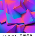 abstract geometric background... | Shutterstock .eps vector #1203485254