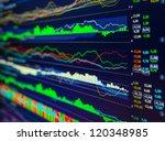 data analyzing in forex market  ... | Shutterstock . vector #120348985