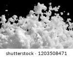 white lather. background or... | Shutterstock . vector #1203508471