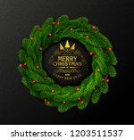 vector holiday illustration for ... | Shutterstock .eps vector #1203511537