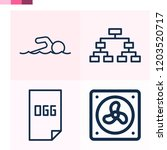 contains such icons as playoff  ... | Shutterstock .eps vector #1203520717