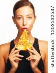 food seduction concept.... | Shutterstock . vector #1203532537