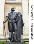 Statue Of American President...