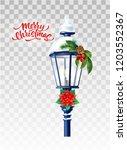 vector realistic glowing... | Shutterstock .eps vector #1203552367