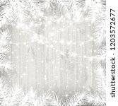 Christmas Background With White ...