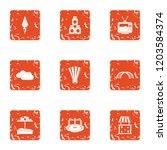 children occasion icons set....   Shutterstock .eps vector #1203584374