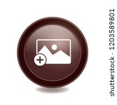 add photo sign vector button ... | Shutterstock .eps vector #1203589801