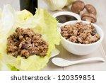 Ground Chicken And Mushrooms...